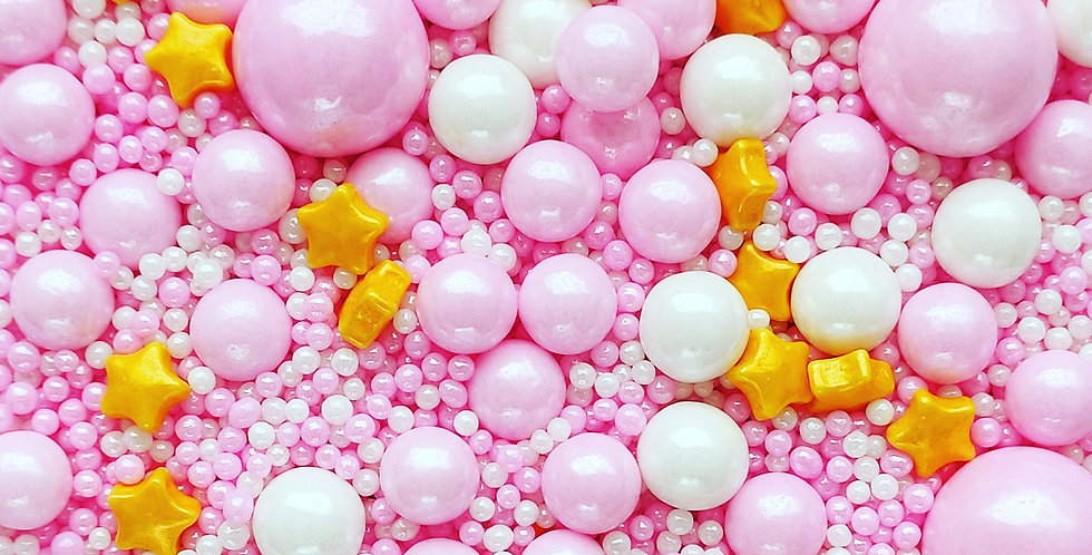 Pink-a-boo Sparkling Sprinkle Mix