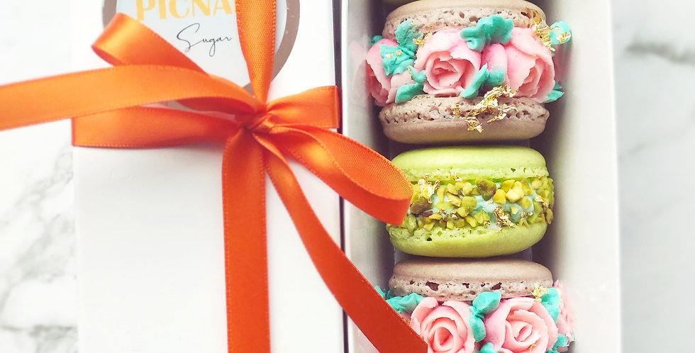 Mother's Day Macaron Gift Box (Geelong PICK UP only)