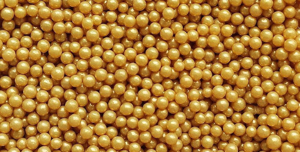 Antique Gold Sprinkle Pearls, Cachous, Candy beads, Basics