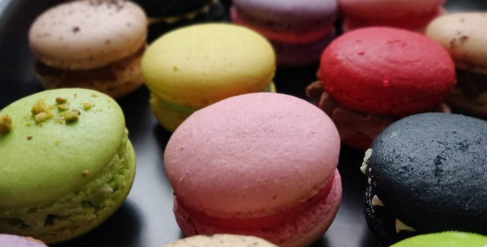 Macarons 24pc Tray (Geelong and Melbourne city PICK UP only)