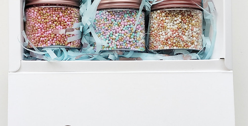 Sprink-up Nonpareils, Palette of six blends