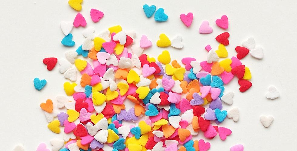 Multi Hearts Confetti Blend