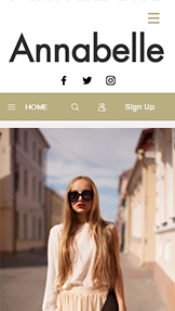 Fashion & Beauty website templates – Personal Style Blog