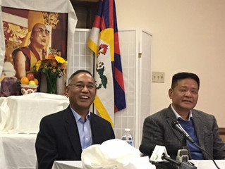 Reception for Incoming and Outgoing Office of Tibet Representatives (DC)