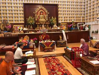 CATA community gathers for Saka Dawa Prayers
