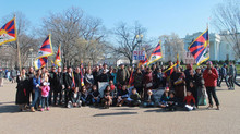 Tibetan Uprising Day in Washington, DC