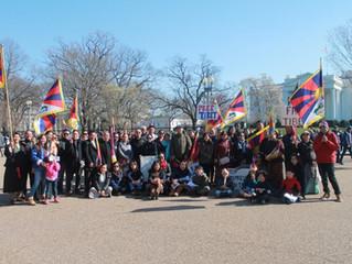 Tibetan Uprising Day in Washington, DC