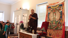 The 17th Gyalwang Karmapa Addresses DC Area Tibetans and Friends of Tibet