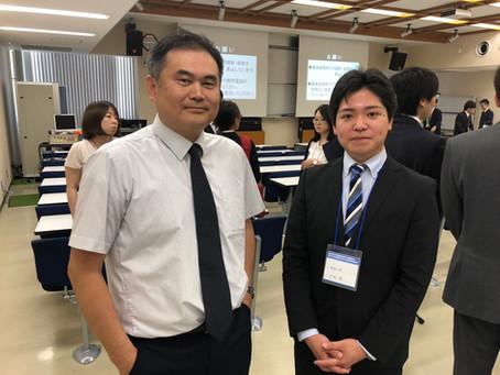日本呼吸器・肺癌学会 中国・四国地方会にて発表