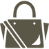 高級ブランド風のバッグの無料アイコン素材 3.png