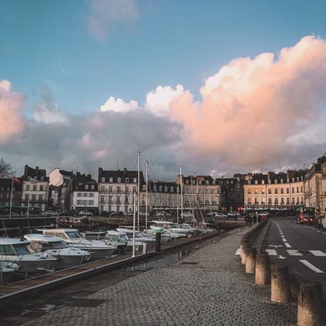 Vannes, ville romantique.