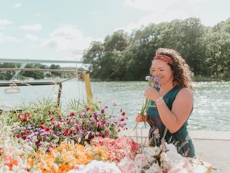 PORTRAIT #9 : Tiphaine, fondatrice des décorations florales Les Bottes d'Anémone