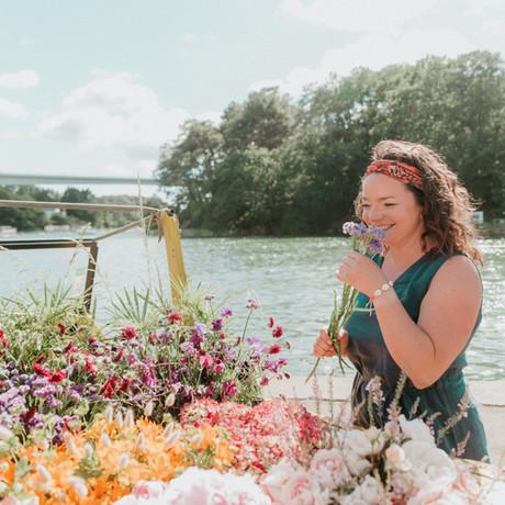 PORTRAIT #15 : Tiphaine, fondatrice des décorations florales Les Bottes d'Anémone
