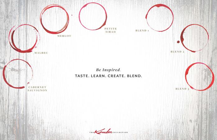 71619 Kessler Wine Blending Placemat (13
