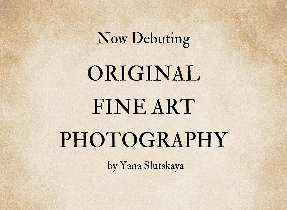 Original Fine Art Photography by Yana Sl