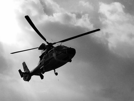 【山岳レスキュー】山岳事故発生!ヘリレスキュー要請後17分で救助。