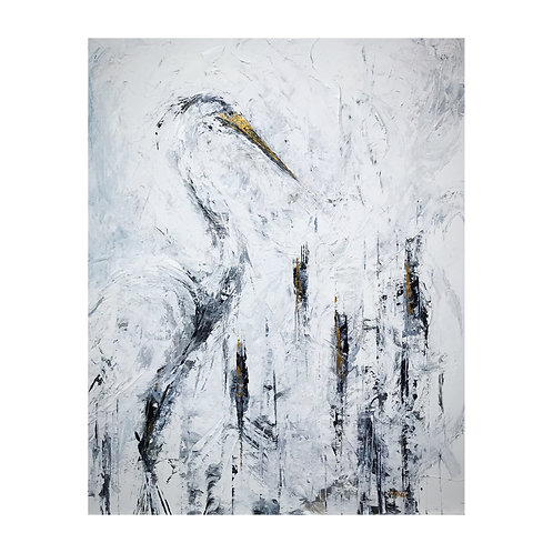 *SOLD* The Heron