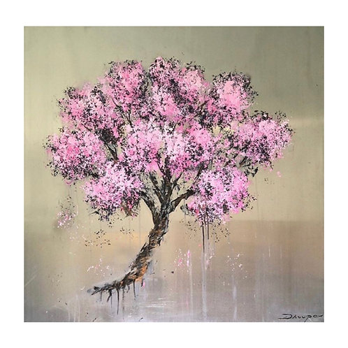 Tree of Bliss (on aluminium)