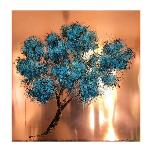 *SOLD* Tree of Light (on copper)