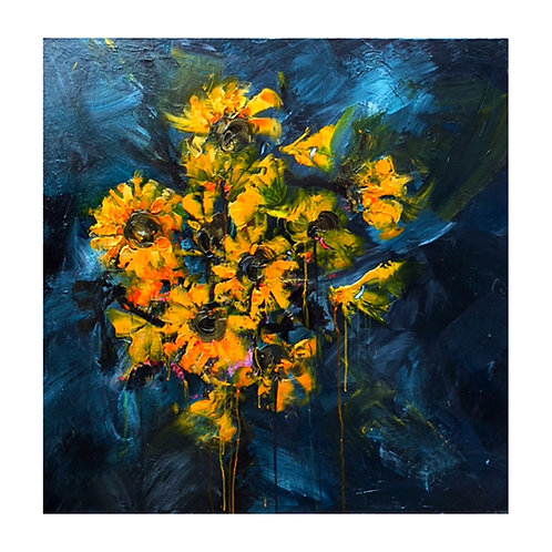 *SOLD* Sunflowers