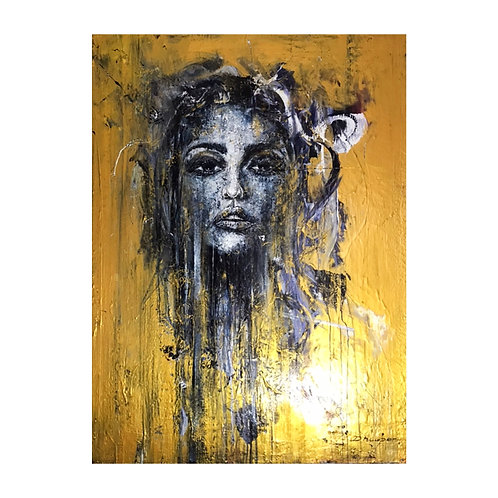 *SOLD* The Lady in Gold