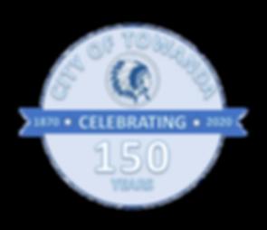 Towanda Sesquicentennial Logo (Transpare