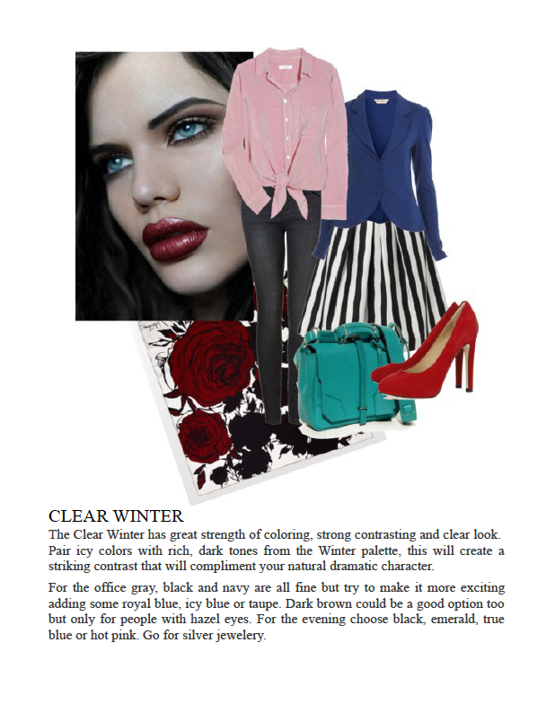 Clear Winter Clothing