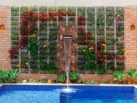 Jardins verticais: aproveitando o espaço e decorando com sustentabilidade