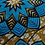 Thumbnail: Satin-lined Ankara Print Bonnet