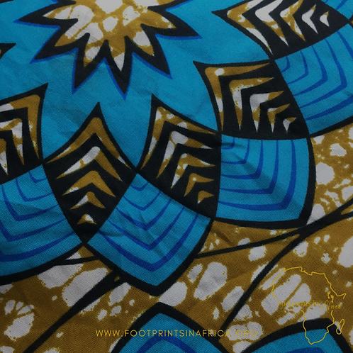 Satin-lined Ankara Print Bonnet