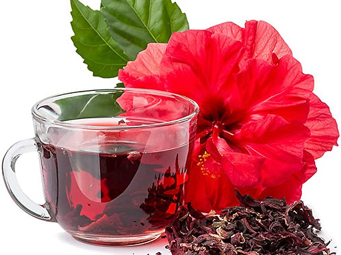 African Hibiscus Mint Tea