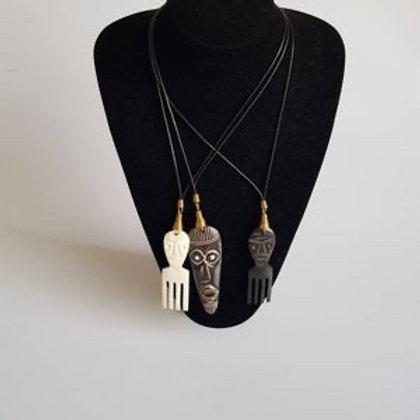 African Bone Necklaces