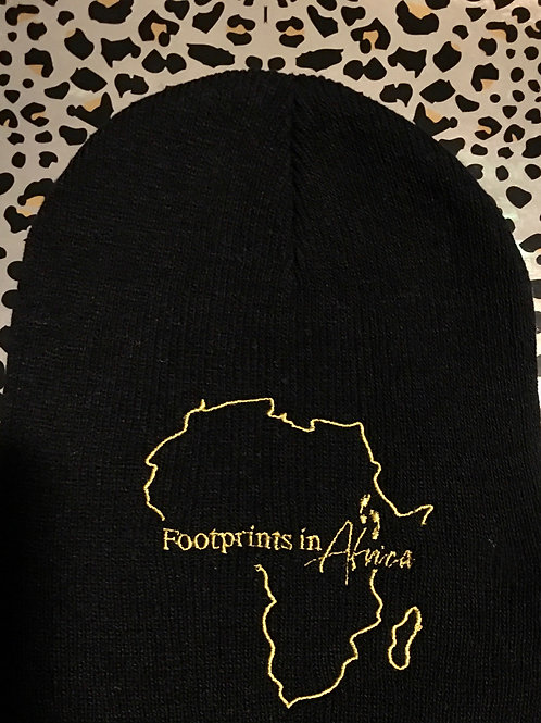 Black Skull Cap (lightweight) with Logo