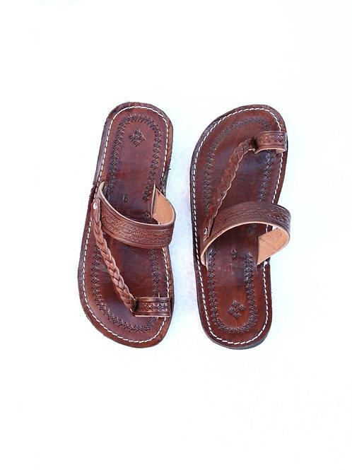 Moroccan Leather Men Sandals