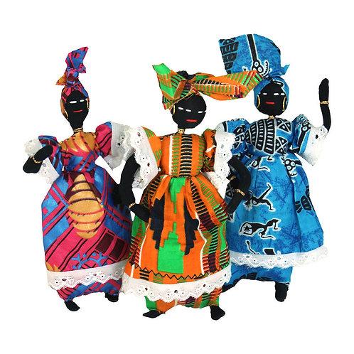 African Cloth Doll