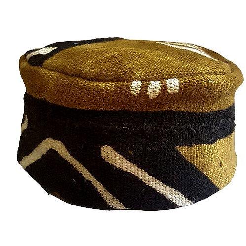 Mud Cloth Kufi Hat