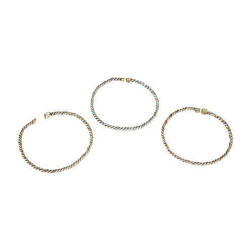 Copper & Brass Bracelets (set of 3)