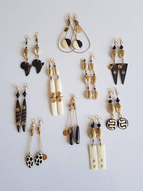 African Artisan Earrings