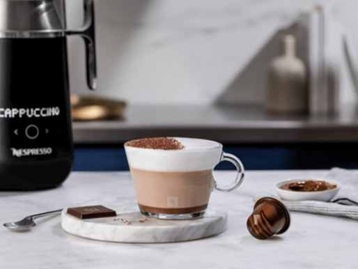 DELECTABLE WARM DOLCE TRUFFLE CAPPUCCINO