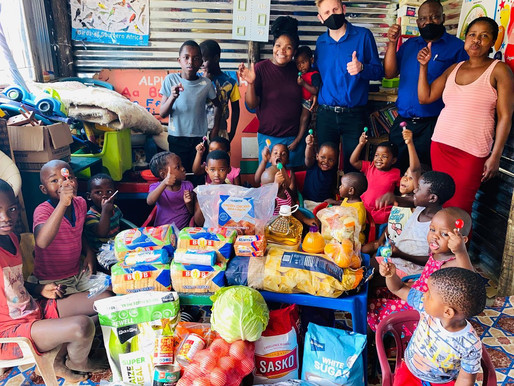 INGCEBO EDUCARE IN ISIPINGO RECEIVED MUCH-NEEDED DONATIONS