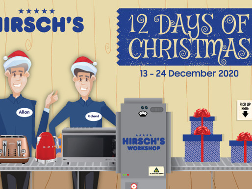12 DAYS OF CHRISTMAS WITH HIRSCH'S