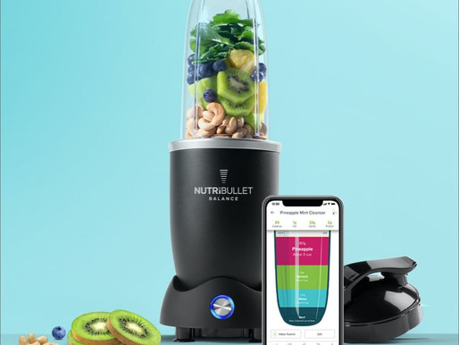 HEALTH BOOST IN SECONDS – WITH THE NUTRIBULLET!