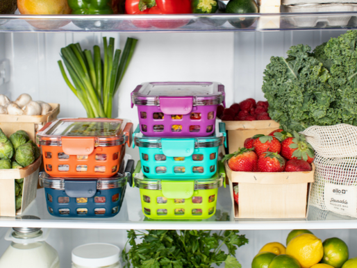 HOW SHOULD YOU STORE FRUITS AND VEGETABLES FOR THE BEST NUTRITION?