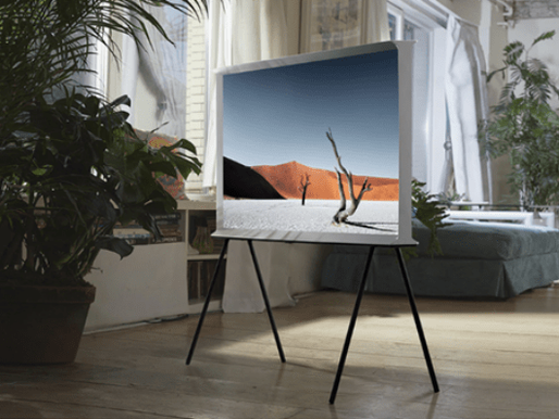 360 DEGREE VIEW WITH SAMSUNG'S SERIF 139 CM TV