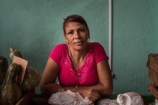 Havana market seller
