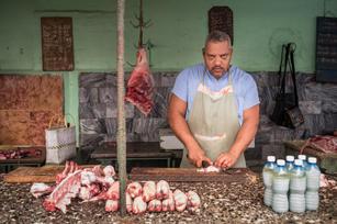 Havana butcher