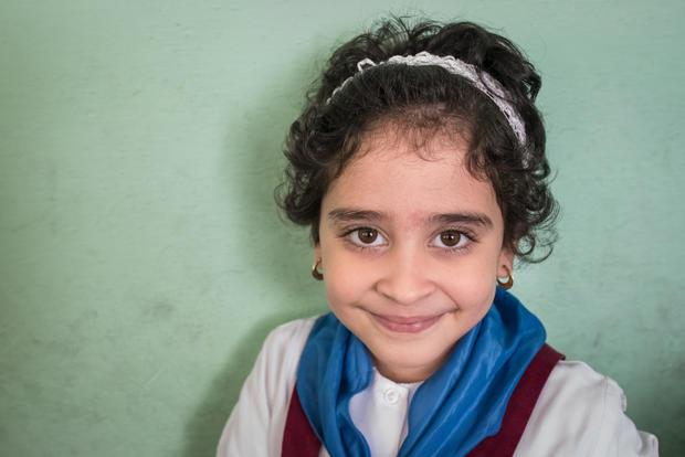 Cuban school girl