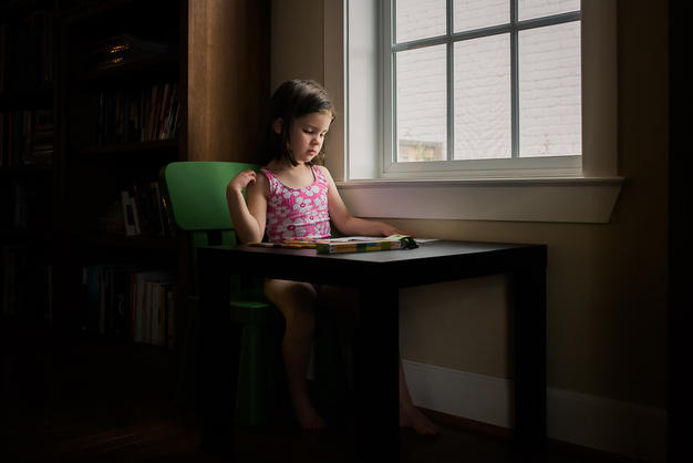 A look back at her developing strengths pre-diagnosis: drawing