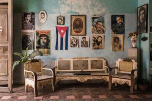 Interior of a home in Havana