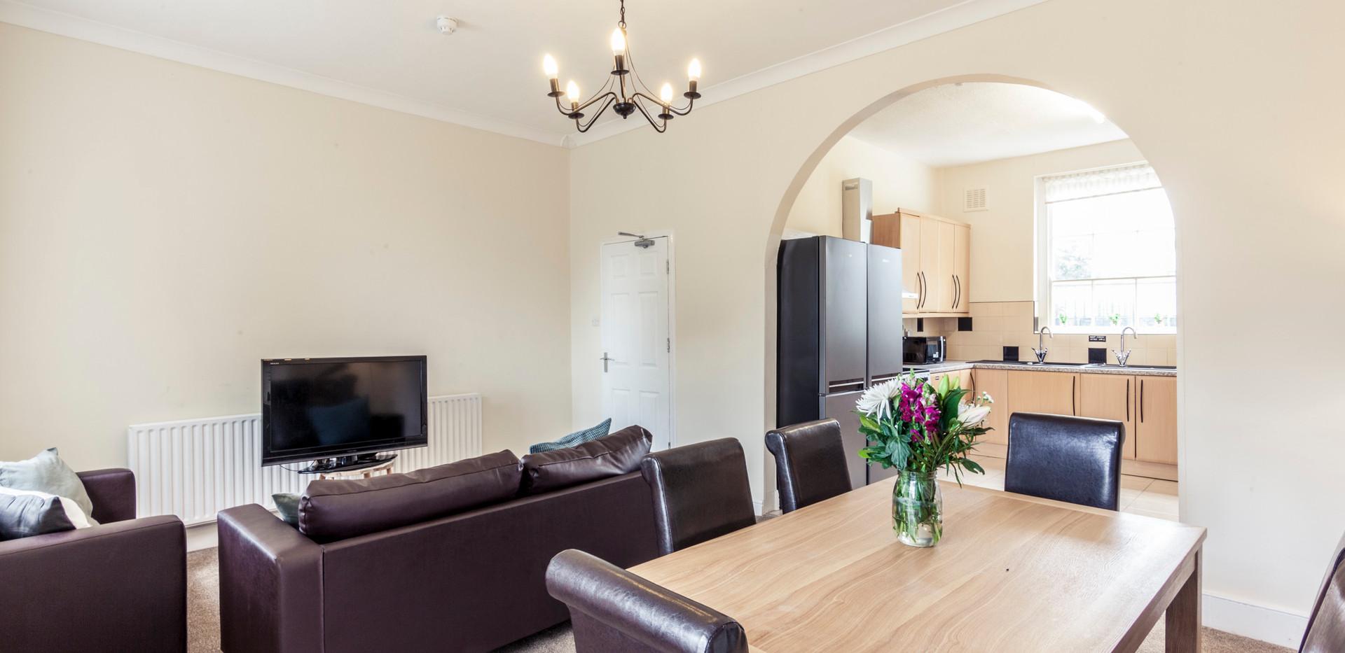 Shared Lounge & Kitchen